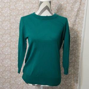Teal/Green J. Crew Tippi Sweater